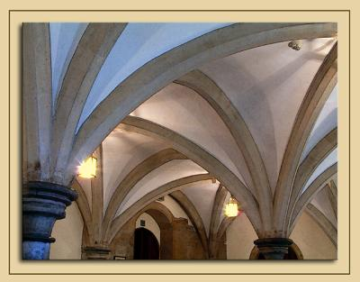 Cellar restaurant, Bishops Palace, Wells
