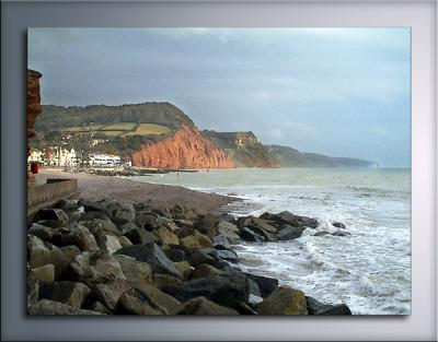 Towards the town, Sidmouth
