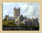 Rear view of Wells Cathedral