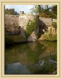 Moat and reflection, Wells