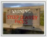 Quarry sign