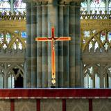 Red cross, Exeter Cathedral