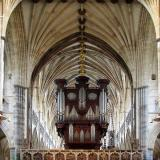 The great organ, Exeter Cathedral