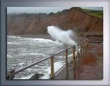 The angry sea!, Sidmouth