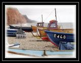 Fishing boats, Sidmouth (1574)