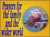 'Prayers' slide from the 2003 Easter series