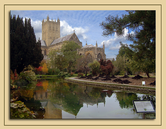 Reflection, Wells Cathedral