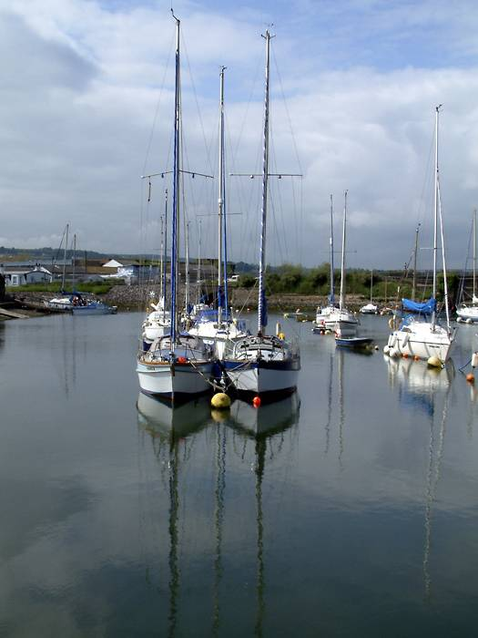 Tall masts, Axmouth