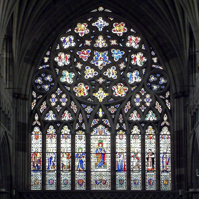 The main window, Exeter Cathedral (2359)