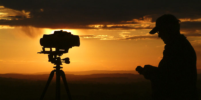 Sunset photography, Ham Hill