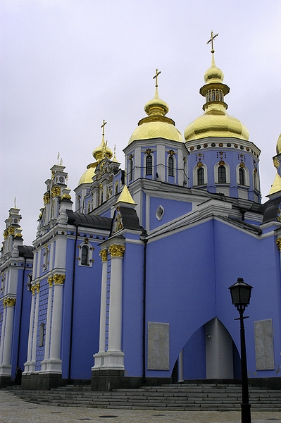 st. michaels cathedral of the golden domes