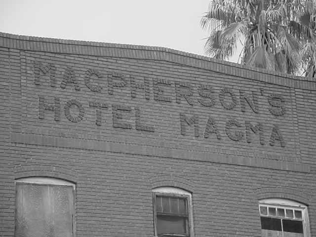 Macpherson's<br> Hotel Magma