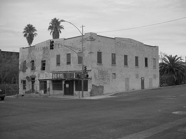 Old Magma Hotel<br> on Main Street