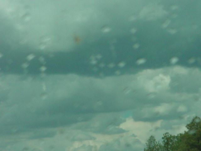 raining on highway I 40