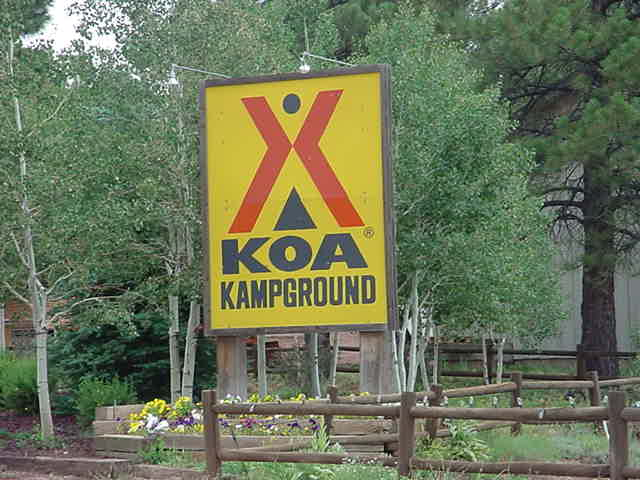 KOA camp ground