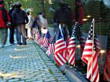 Vietnam Veterans Memorial FlagsSubmitted By: Beacon