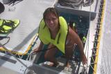 Snorkeling Lovango Cay