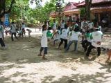 team building competition at Inna Kuta Beach Hotel, Bali