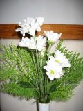 flowers left in room