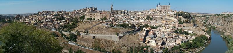 Panoramic View of Toledo, Spain