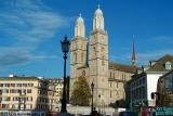Frauenkirche in Zurich, Switzerland