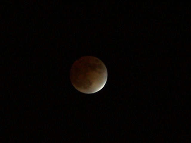 Lunar Eclipse, 8 November 2003