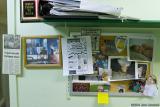 Mom's Office Wall