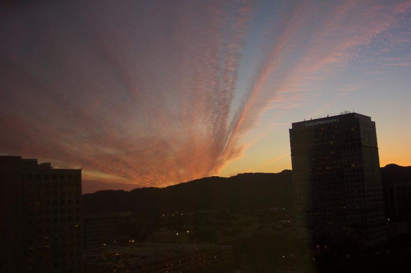 Sunset, a bit later