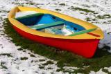 Coloured boat