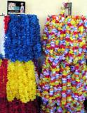 Plastic fantastic leis