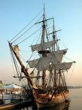 Master and Commander ship - H.M.S. Rose replica  - taken at Shoreline Village, Long Beach