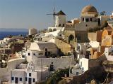 Oia (Santorini) on the late afternoon
