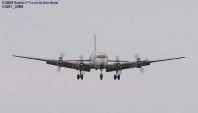 Legendary Airliners (ex-Eastern) DC-7B N836D aviation aircraft stock photo #1007