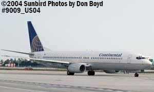 Continental B737-924 N38403 aviation stock photo #9009