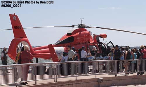 2004 - USCG HH-65A #6555 - Coast Guard stock photo #9200