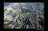 Aerial view of Tsim Sha Tsui