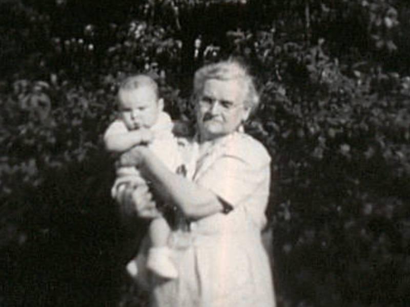 Steve Cavanah & Granny Jones 1949