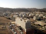 View from the 14th Floor, Sheraton Hotel, Muscat (Ruwi)