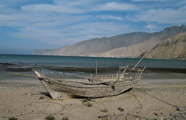 Old Dhow, Bukha, Musandam Peninsula