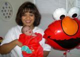 3 Oct 2004 • Ian, Mommy and Elmo!