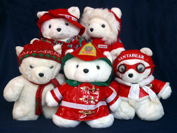 The Santa Bear Family *