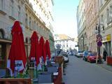 A street in Brno, Czech Republic