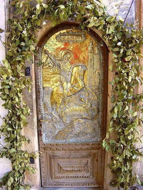 Church gate...