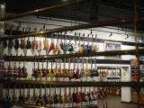 Guitars in the Gruhn's window