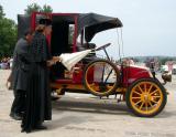 Défilé d'élégance de voitures de collection - Old cars exhibition