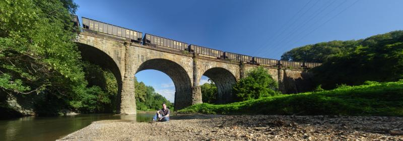 Thomas Viaduct panoramic