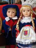 DOLLS DRESSED IN TRADITIONAL COSTUME