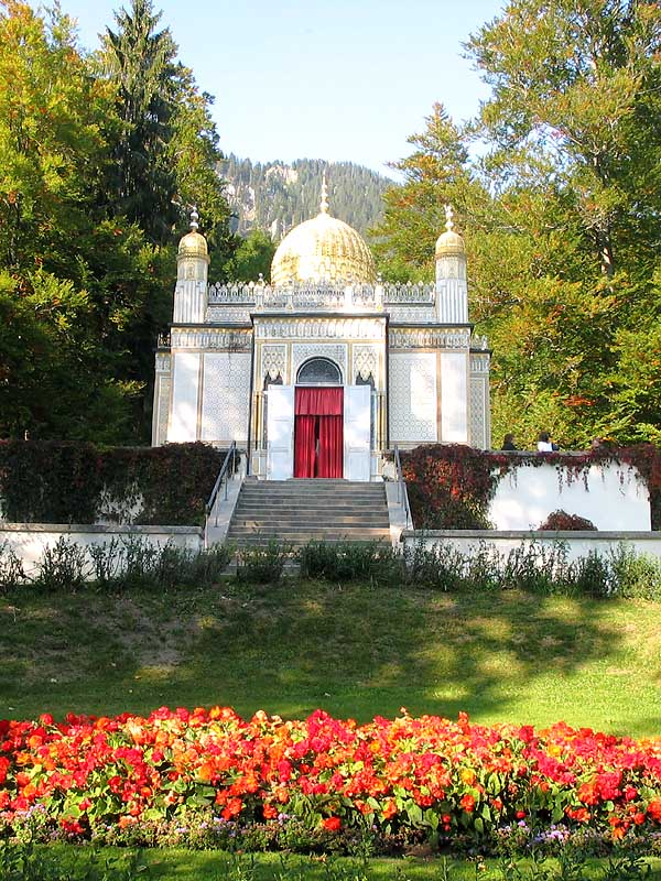 LINDERHOF CASTLE - ARABIC STYLE TEA HOUSE