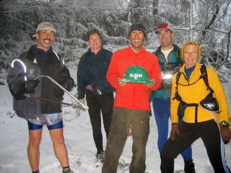 Trail Marking Party & Glenn