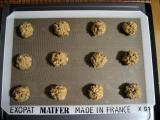 Drop by rounded tablespoon onto cookie sheet